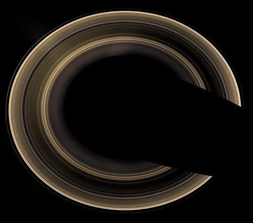 Saturn's Rings Older Than First Thought?
