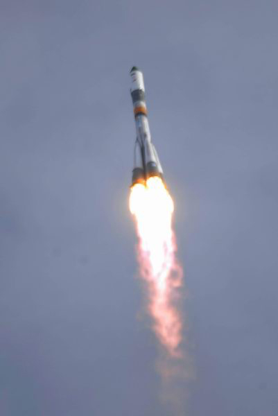 Space Station Cargo Ship Launches With Gifts, Supplies