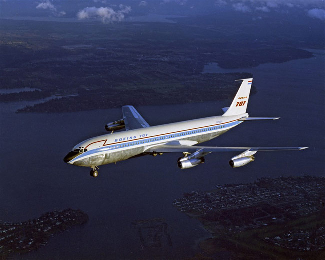 Boeing Marks 50th Anniversary of 707's First Flight