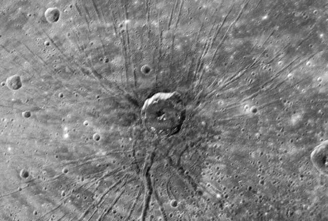 NASA Spots Mysterious 'Spider' on Mercury