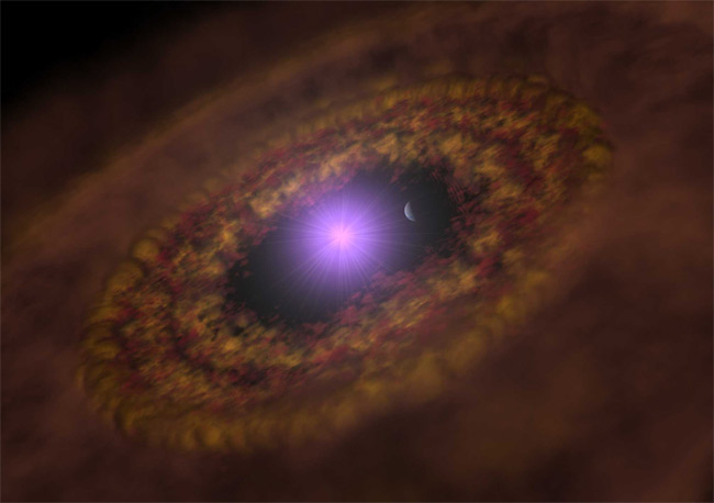 Young Planet Orbits Sun-Like Star