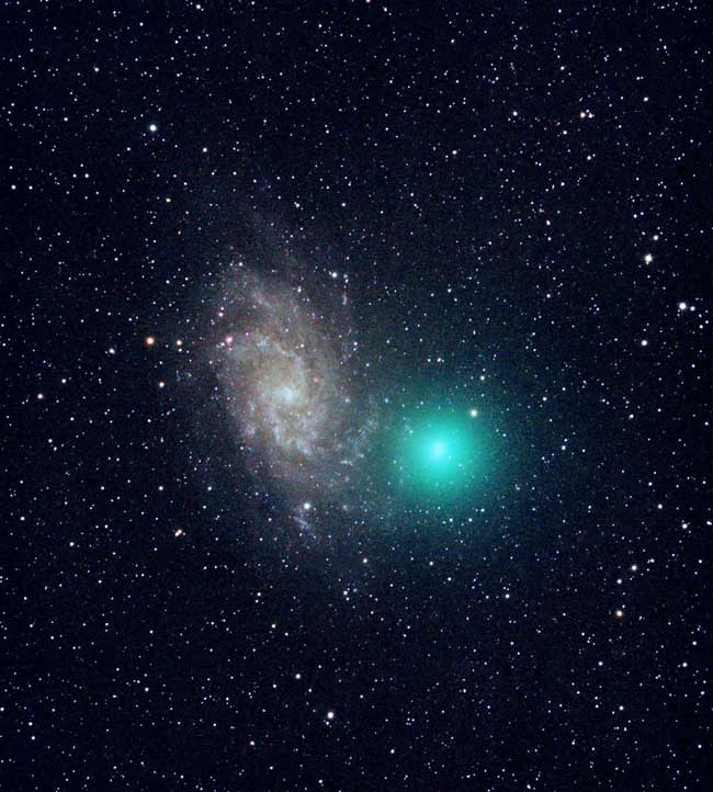 Comet Tuttle at the End of 2007
