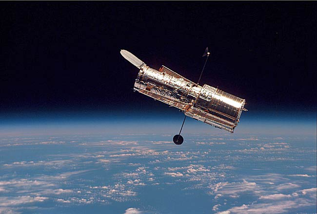 Hubble Space Telescope Ready for Its Close-up
