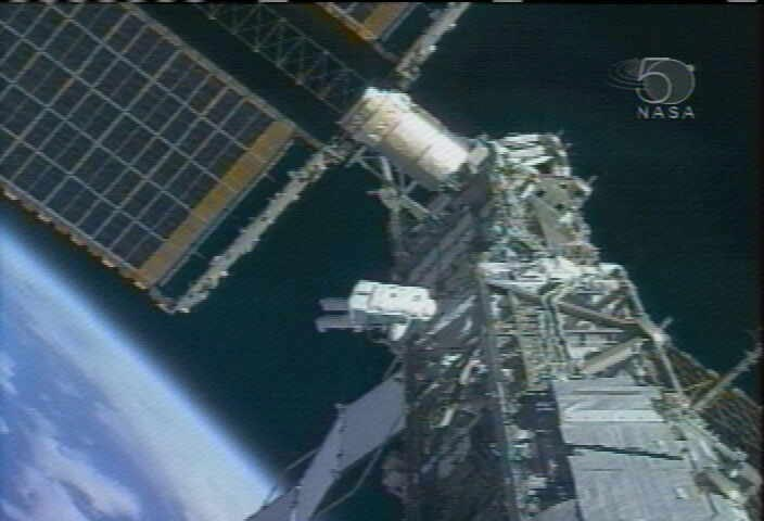 Spacewalkers Bring Space Station a Step Closer to Full Power