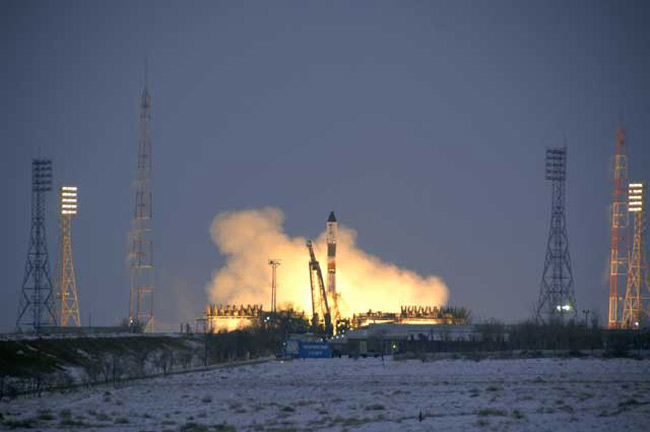 New Cargo Ship Launches Toward Space Station