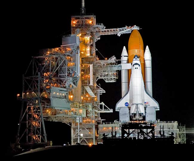 Comparison: NASA's Space Shuttle Stack