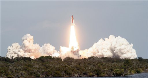 Shuttle Atlantis Launches European Lab into Space