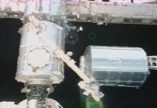 Spacewalkers Help Deliver Station's New European Laboratory