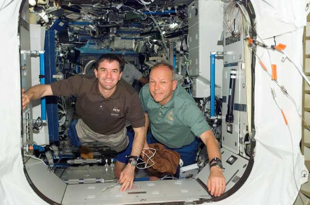 Shuttle Astronaut to Return to Spacewalk Duty