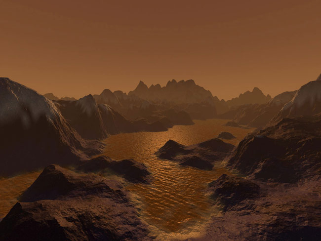 Exotic Life Could Sprout From Titan Chemistry