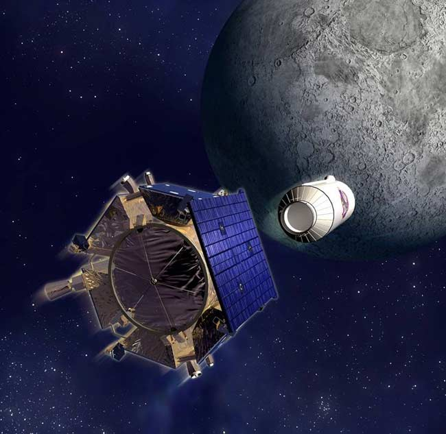 NASA Picks Moon Crater to Slam Into