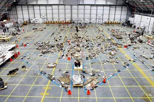 Columbia Debris Display at NASA Promotes Safety