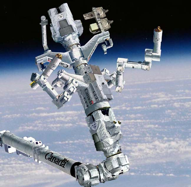 Canadians Excited to Send Robotic 'Superhero' into Space