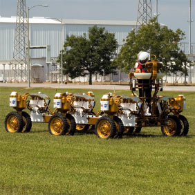 NASA's Chariot: Not Your Father's Lunar Rover