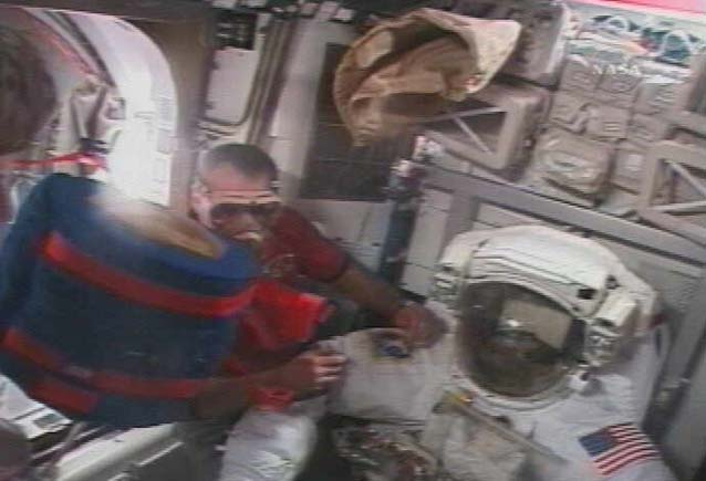 Astronauts to Install New Station Room in Spacewalk