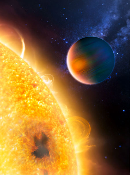 Key Organic Molecule Detected at Extrasolar Planet