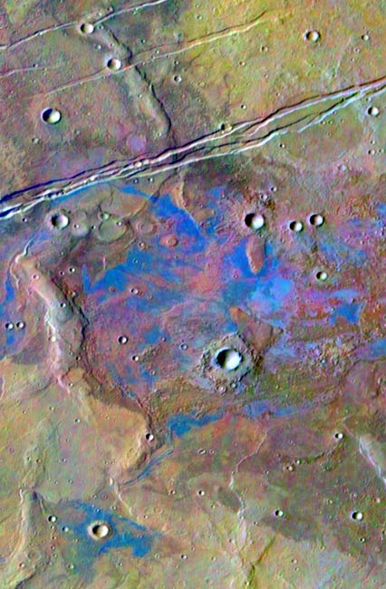 Newly Found Martian Salt Deposits Suggest Ancient Life