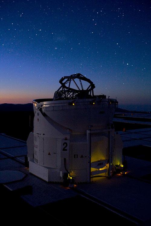 James Bond Movie Shot at Otherworldly Observatory