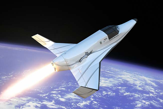 XCOR Unveils New Suborbital Rocketship