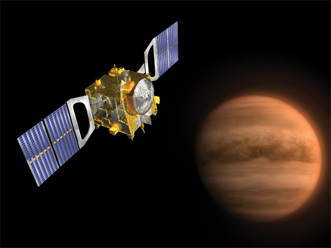 Spacecraft Eyes Venus for Active Volcanoes