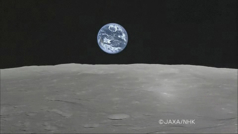 Beauty Shot: Moon Probe Catches Full Earthrise