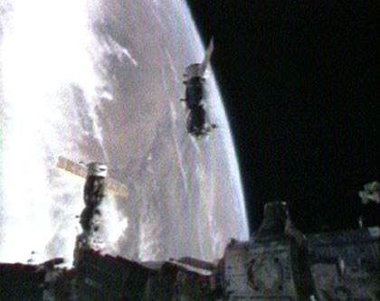 Space Station Astronauts Land Off-Target, But Safely
