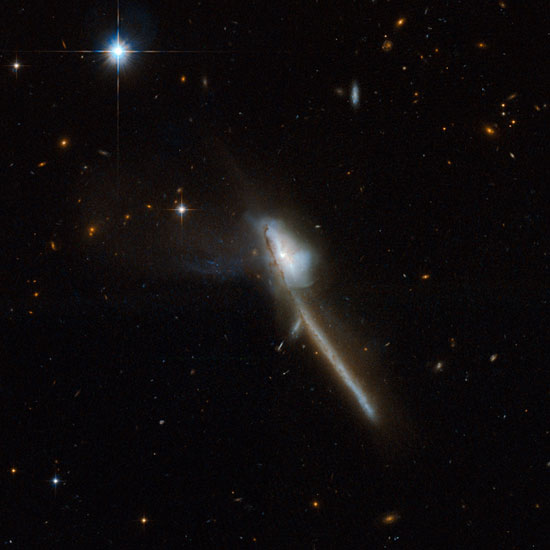 Hubble Photographs Dozens of Colliding Galaxies