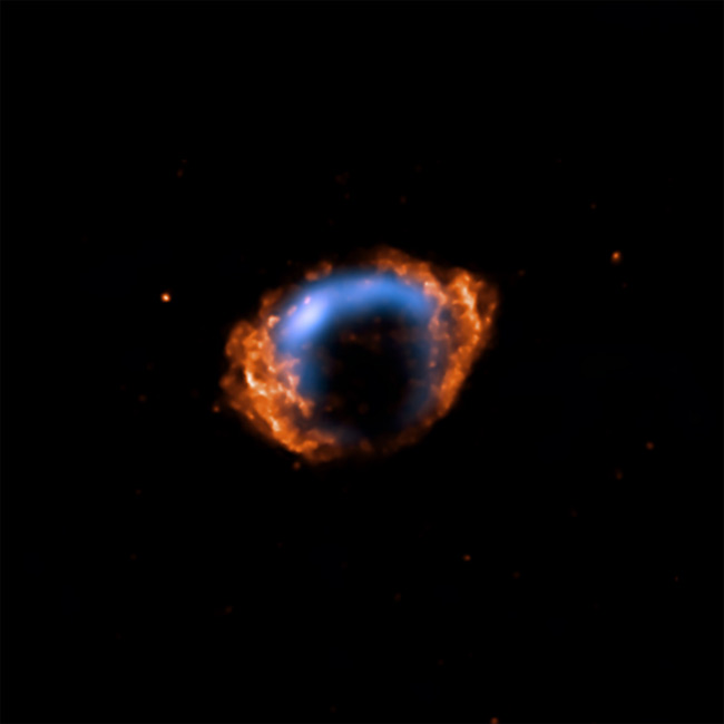 Youngest Exploding Star Discovered