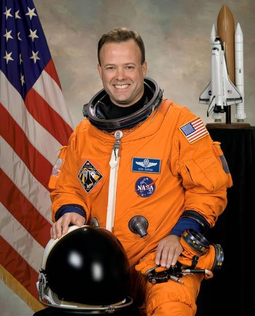 Astronaut Ronald J. Garan