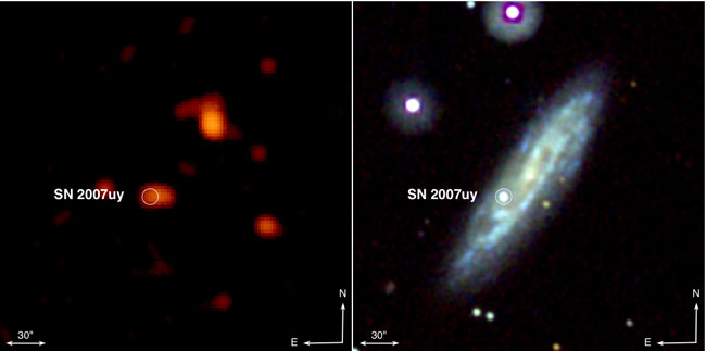 Supernova Birth Observed for First Time