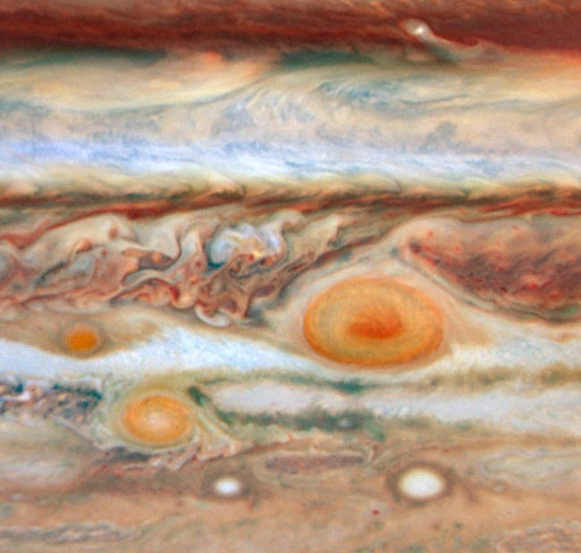 Jupiter's Spots Change Dramatically
