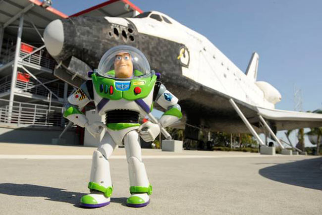 Buzz Lightyear Becomes Real Space Ranger