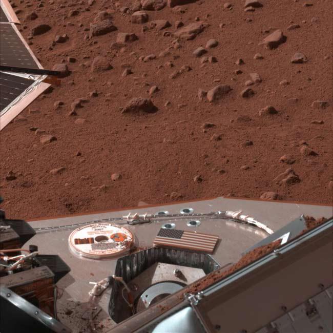 Martian Soil Sample Clogs Phoenix Probe's Oven