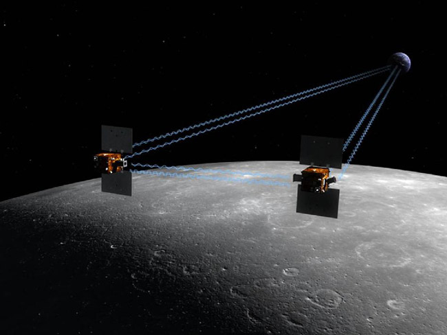 Twin Moon-Mapping Space Probes Begin Extended Mission