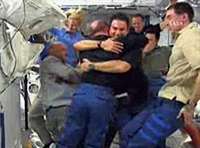 Astronauts Bid Emotional Farewell to Station Crew