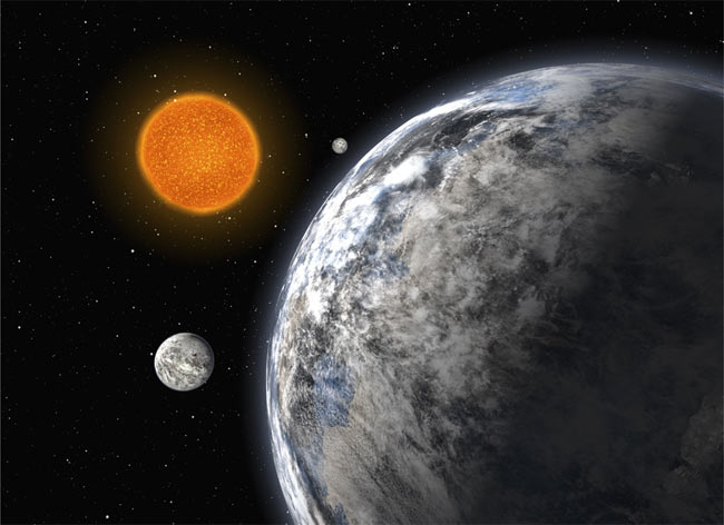 Three Super-Earths Found Orbiting One Star