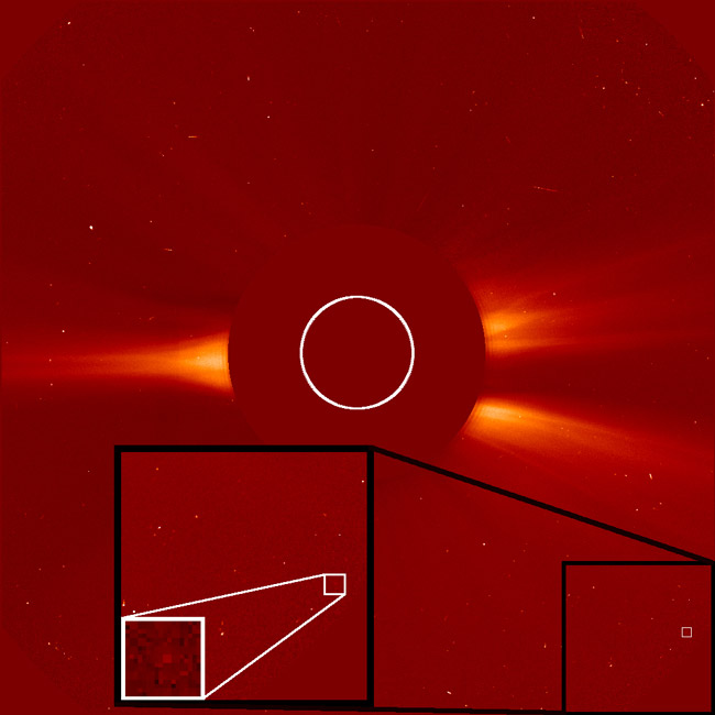 SOHO Spacecraft Finds 1,500th Comet