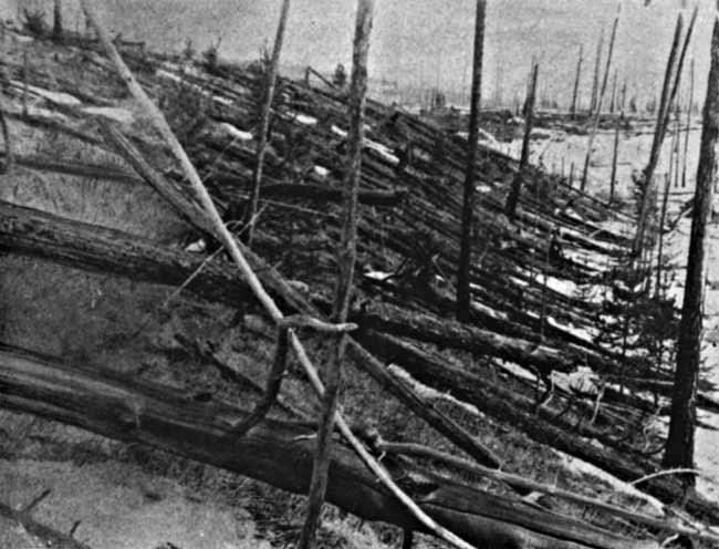 Huge Tunguska Explosion, Still Mysterious