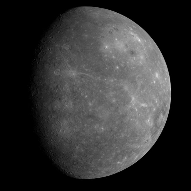 Volcanoes on Mercury Solve 30-year Mystery