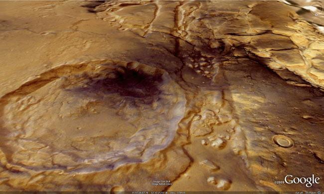 NASA, Google Unveil Mars in 3D