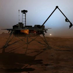 Mars Lander Team Applies for Mission Extension