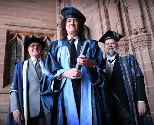 Queen's Guitarist Publishes Astrophysics Thesis
