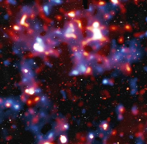 Milky Way's Dark Matter Clumpier Than Thought