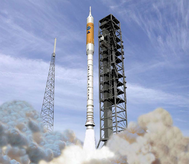 Shock Absorber Plan Set for NASA's New Rocket