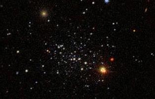 Nearby Galaxy Nearly Invisible