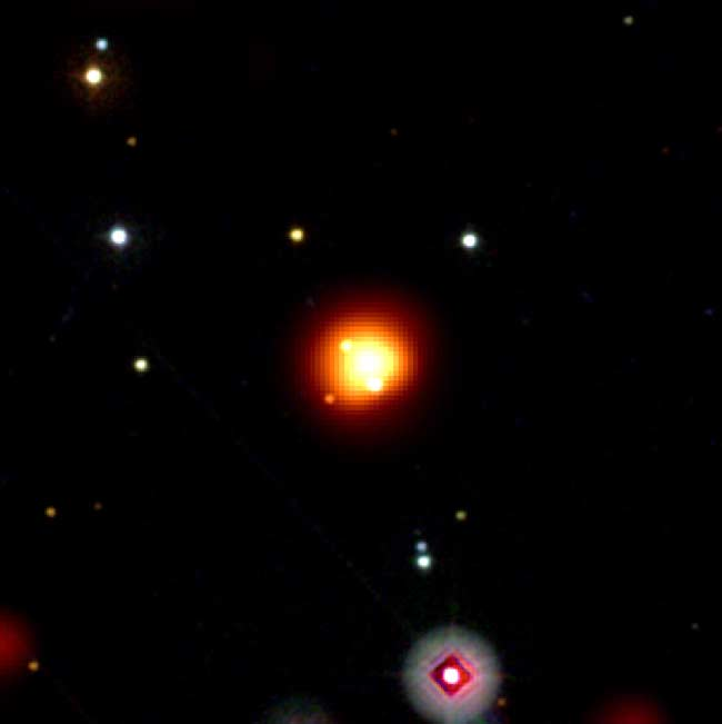 Explosion From Edge of Universe Seen