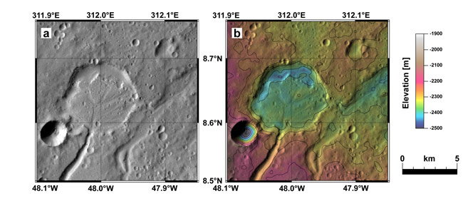 Study Suggests It Rained on Ancient Mars
