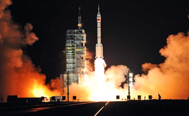 Liftoff! China Launches Third Manned Spaceflight