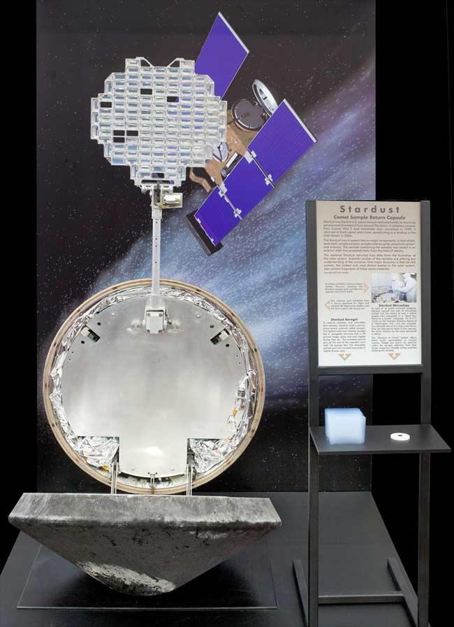 Comet Capture Capsule Goes on Display