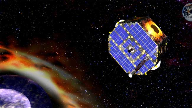 NASA Primes IBEX Spacecraft to Probe Solar System's Fringe